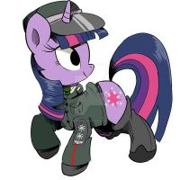 General Twilight Sparkle by SPIDIvonMARDER