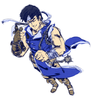 Richter Belmont by Aerobian-Angel