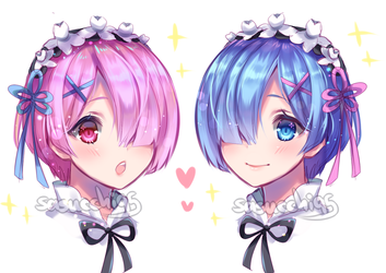 rem and ram by sasucchi95
