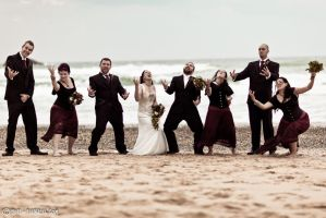 A very metal bridal party by fiathriel