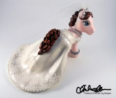My Little Bride Cake Topper by thatg33kgirl