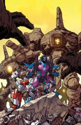 Tranformers Lost Light issue 17 cover B by markerguru