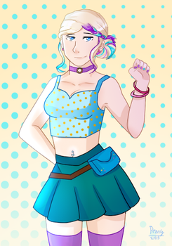 Club Penguin Dot Human by Penny2415