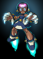 Wily female Bot by rongs1234