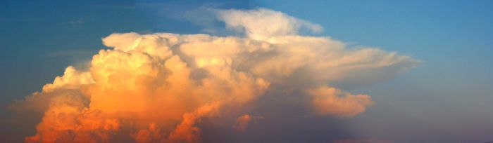 Large Photo sunset clouds by rich35211