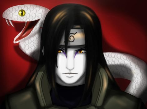 Jonin Orochimaru by darkwings13