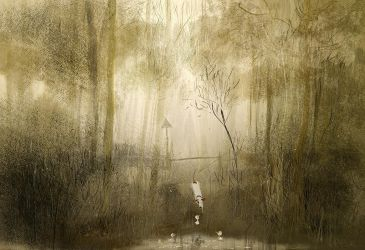 Rainy afternoon by the pond by PascalCampion