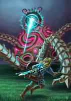Guardian vs. Link by Viride