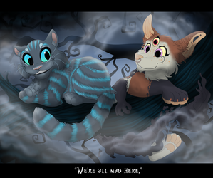We're all  mad here by Tayarinne