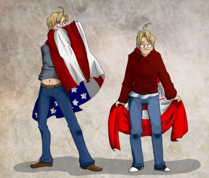 APH: How Patriotic by annakinz