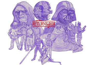 Return of the Jedi by Gilliland35