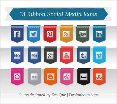 Free Premium Social Media Icons by Designbolts