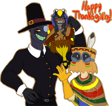 Happy Thanksgiving by Atomic52