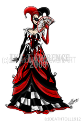 Harley Quinn dress by undead-medic