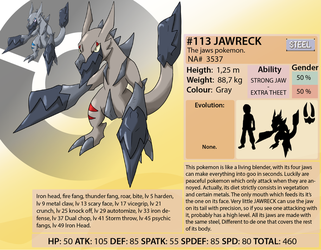 Najkadex 113 Jawreck by shinyscyther