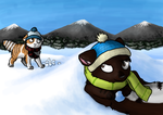 Cold mountain days by SpitfiresOnIce