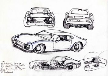 concept: Sports 800 and 2000GT heritage by CosmOSmocker
