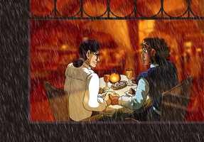 Three Years of Leif and Thorn by ErinPtah