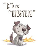 E Is For Einstein by OtisFrampton