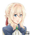 Violet Evergarden by mewTalina