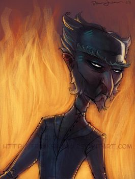 Vil Mnth - 11 - Count Olaf by DrewGreen