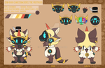 Dancemachine the protogen reference by KinGKerO