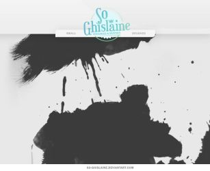 Brushes - Paint Splashes by So-ghislaine