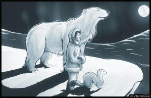 Golden Compass Fanart finished by kittomer