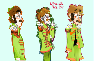Sgt.Pepper John's Lonely Hearts club Band by KabouterPollewop