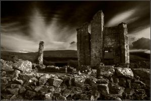 Edlingham Castle 4 by newcastlemale