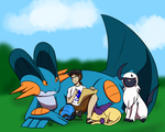 ORAS: Afternoon Sketches by LizDoodlez