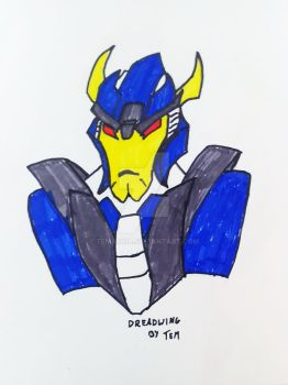 Dreadwing - TFP by temarcia