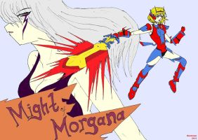 Symphogear Legends - Might of Morgana by riockman