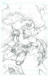 The Incredible Hulk - Issue 2 Page 14 PENCILS by MichaelBroussard