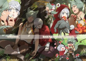 SketchPage Bahamutia FairyTale by chisacha