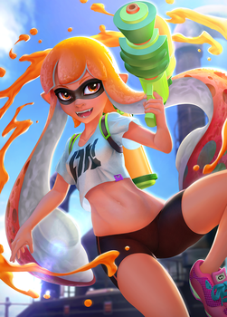 Splatoon by Yuqoi