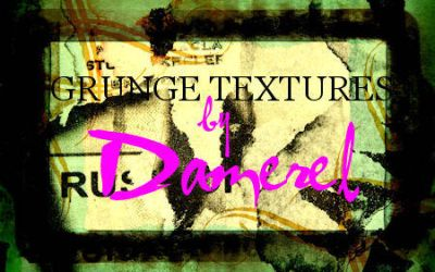 Textures: Grunge and graffiti by damerel