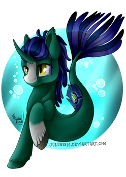 YCH Commission - Under the sea by Julunis14