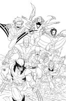 Cover Uncanny X-Men First Class 2 - High Res by rogercruz