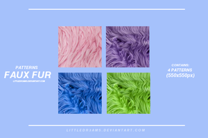 FAUX FUR - PATTERNS by LittleDr3ams