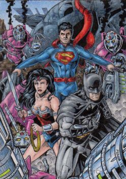 DC: Justice League - Trinity AP by tonyperna