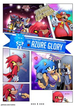 The Azure Glory - Page 1 by Cuisin