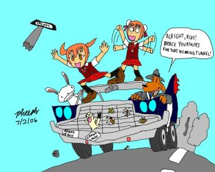 Highway Surfing 1 by pheeph