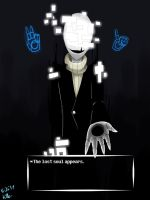 Gaster The Lost Soul by pokefighterlp
