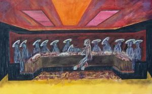 The Last Supper by Godcharon