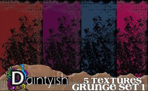 Grunge set 1 by daintyish
