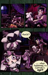 Fearsome Critters pg. 1 by squidbunny