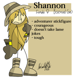 Shannon (ref) by TheRealNatechu