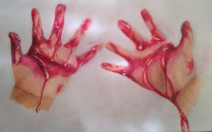 Bloody Hands  by swiftcross