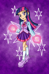 My name is Twilight Sparkle by TanjatheBat